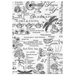 Набор кухонных полотенец Time Textile Флора и фауна 40x70 см (6 шт.)