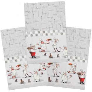 Набор кухонных полотенец Time Textile Повар 40x70 см (3 шт.)