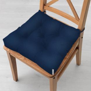 Подушка на стул Time Textile Kanzas Navy Blue 40x40 см