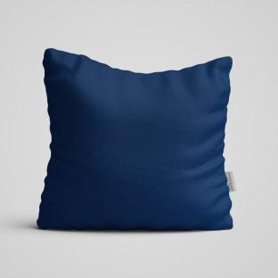 Декоративная подушка на диван Time Textile Kanzas Navy Blue