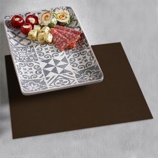 Набор салфеток под тарелки Time Textile Kanzas Brown (4 шт.)