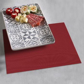 Набор салфеток под тарелки Time Textile Panama Marsala (4 шт.)