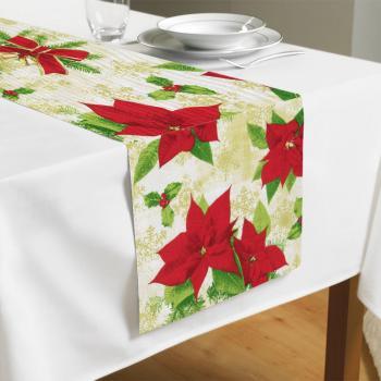 Дорожка на стол Christmas Flower