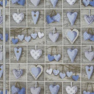 Скатерть Time Textile Patchwork Hearts