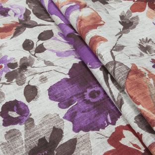 Скатерть из хлопка Time Textile Осенний букет