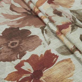 Скатерть из хлопка Time Textile Осенние цветы