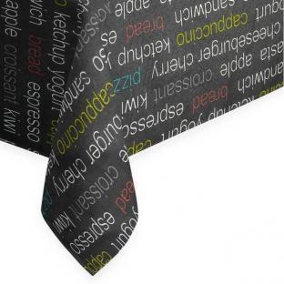 Скатерть с акриловым покрытием Da Vinci Noche Time Textile