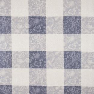 Скатерть в клетку с акриловой пропиткой Time Textile Millete