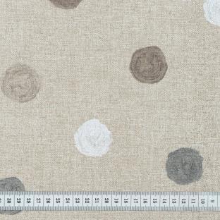 Скатерть в горошек с акриловой пропиткой Time Textile Circulos