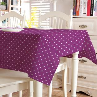 Скатерть в горошек Time Textile Sevilla Lilac