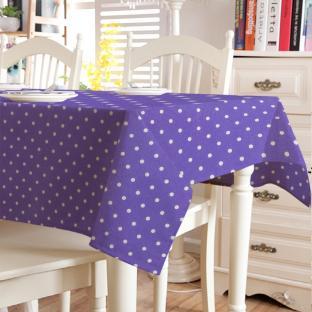 Скатерть в горошек Time Textile Sevilla Violet
