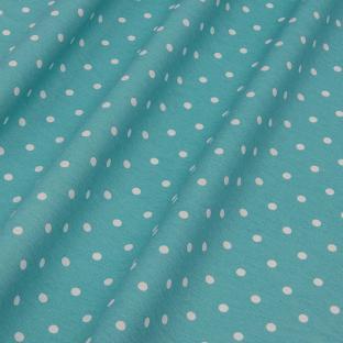 Скатерть в горошек Time Textile Sevilla Aqua