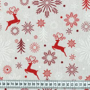Наволочка на декоративную подушку Time Textile Red Deers 38x38 см